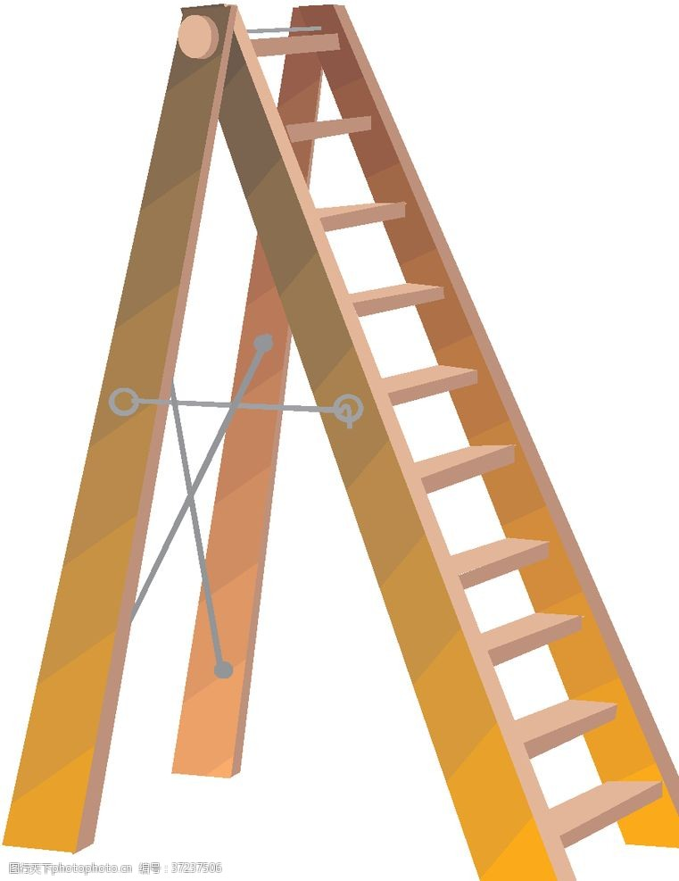 伸缩梯梯子