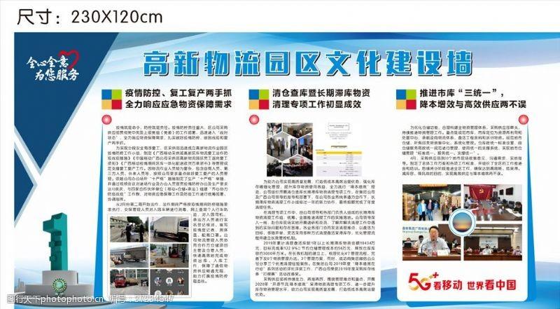公司简介文化展板物流展板展示货运运货