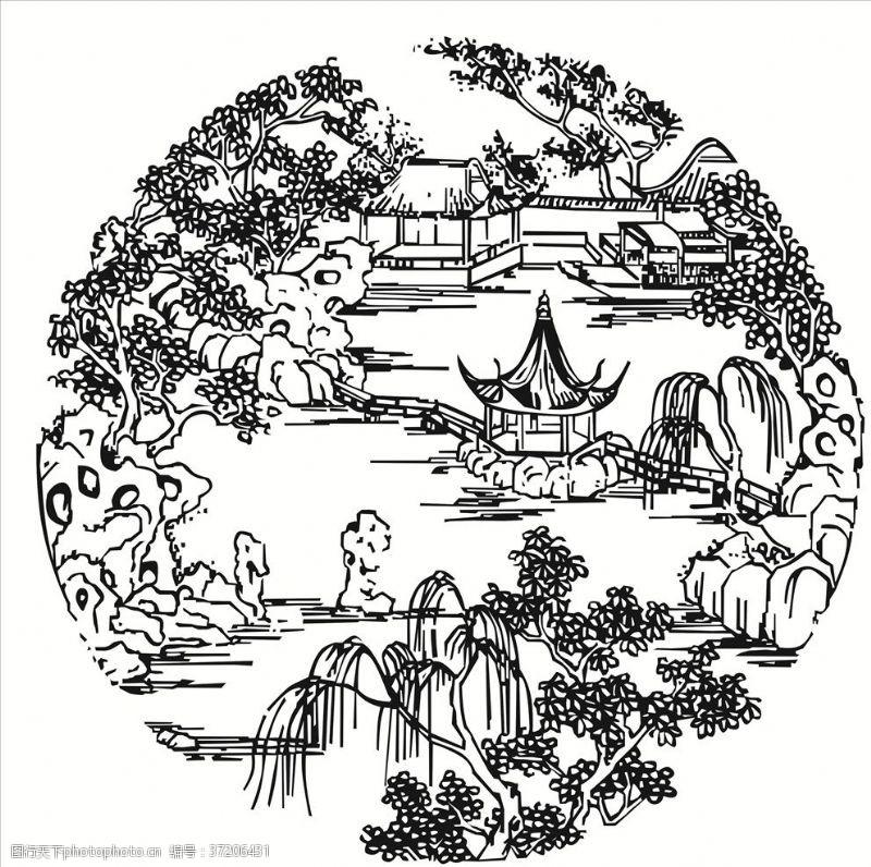 建筑家居中国古代楼阁