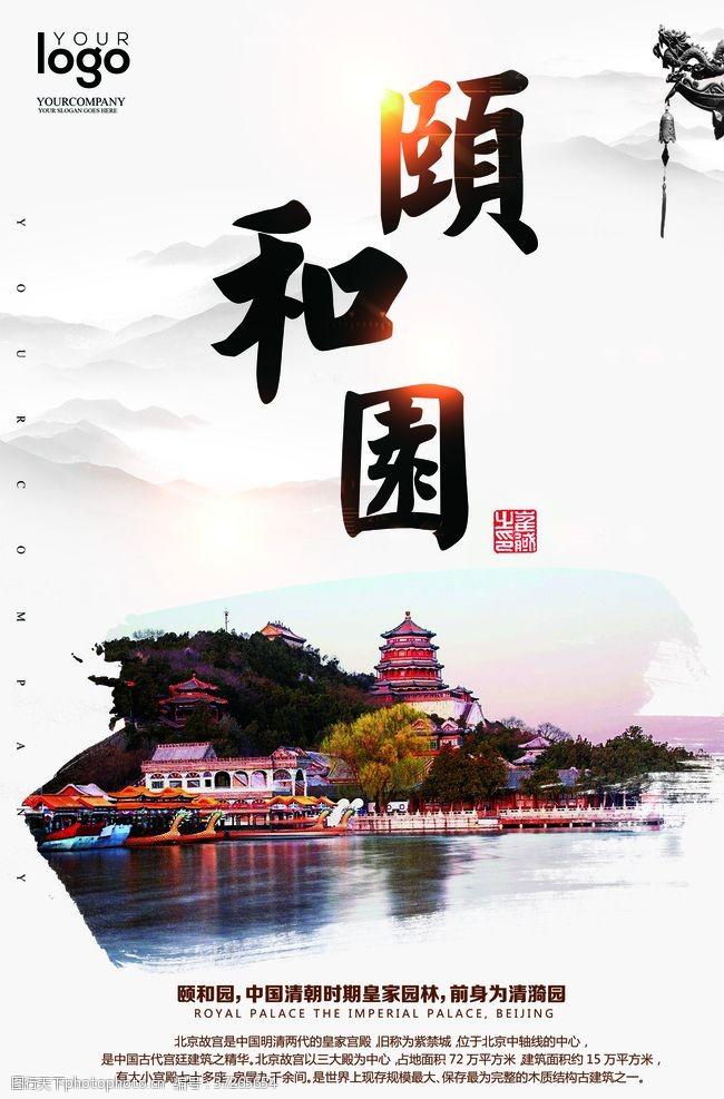 北京天安门颐和园