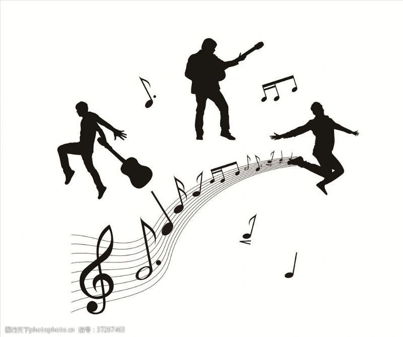 休止符音乐元素