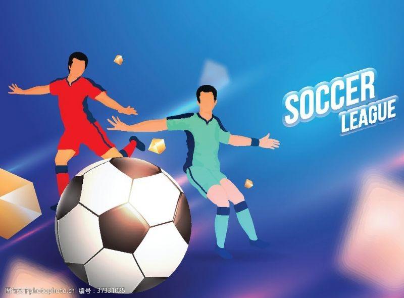 足球展架足球海报