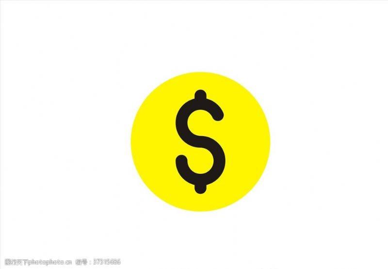银行素材金币矢量图标