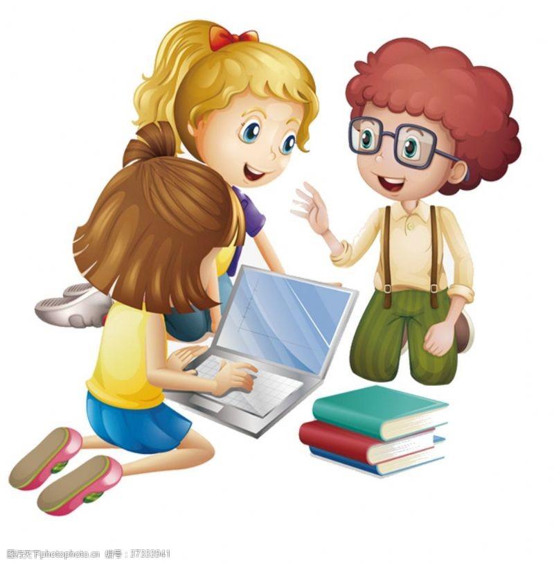 人物图片素材卡通儿童
