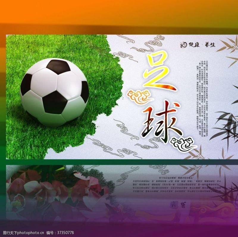 绿茵场足球海报