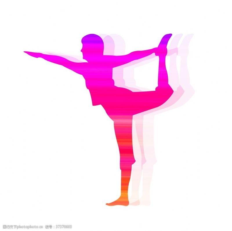彩色重影系列运动艺术体操
