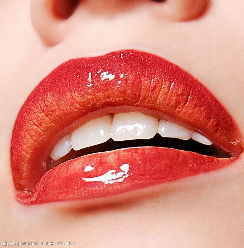 印刷适用女性性感的唇图片素材