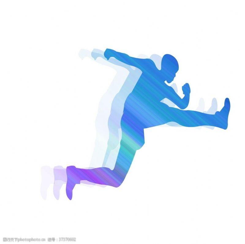 艺术体操彩色重影系列运动