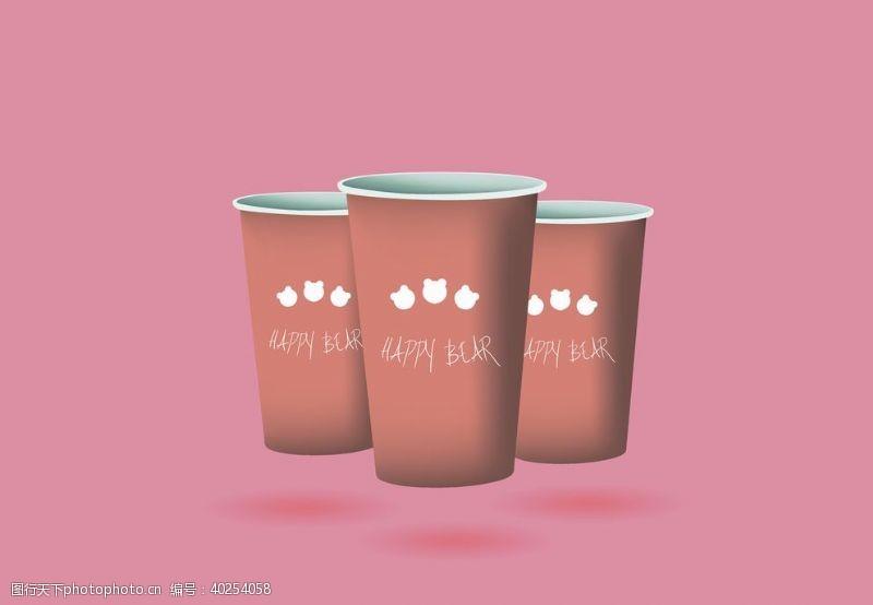 罐子纸杯图片