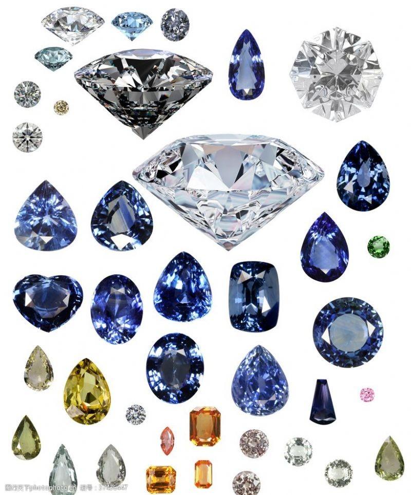 钻石展板钻石素材