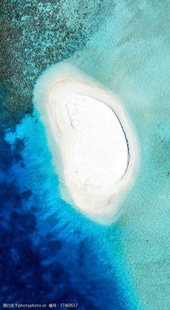 免费素材大海中的岛