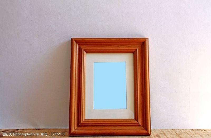 墙面画画框背景