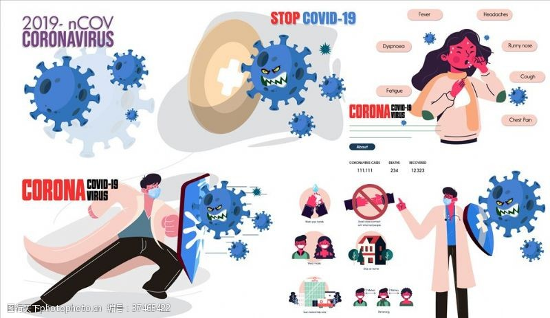 呼吸综合征新冠病毒