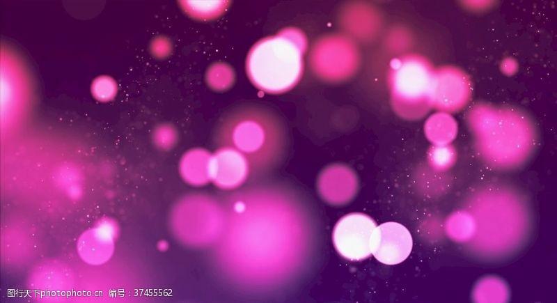紫色梦幻背景海报