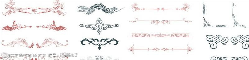 古典装饰装饰线