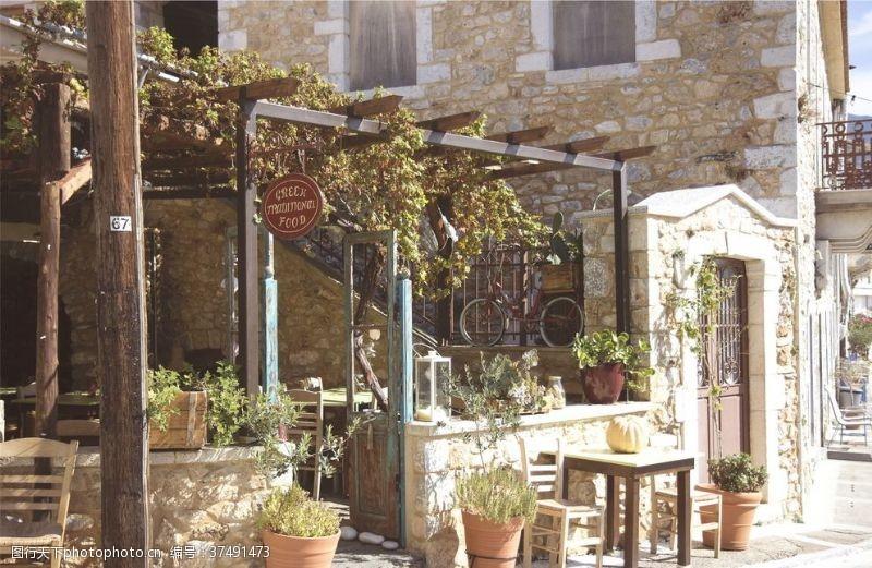 大图餐厅门口景观