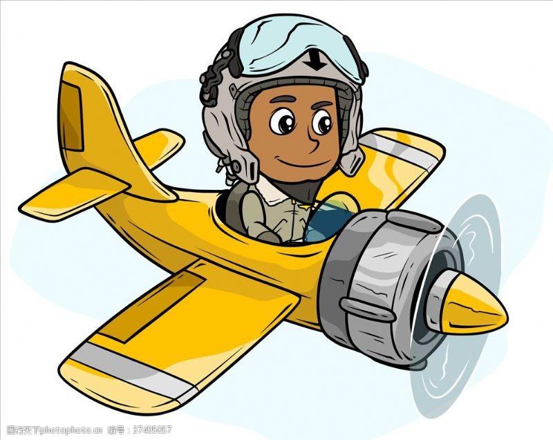 飞机飞行员