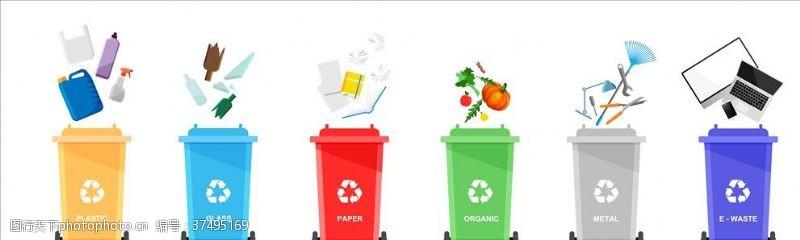 环保展板垃圾分类