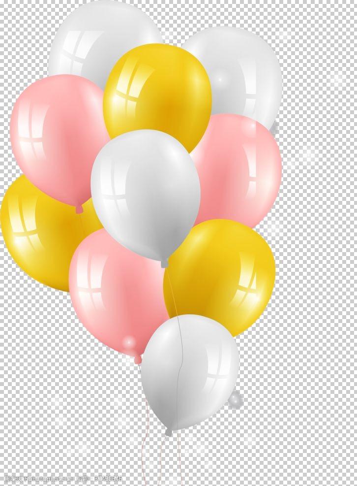 彩色气球气球