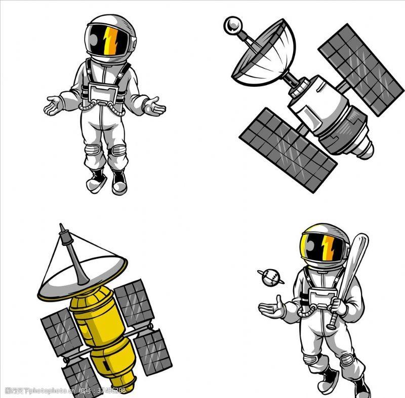 飞机宇航员
