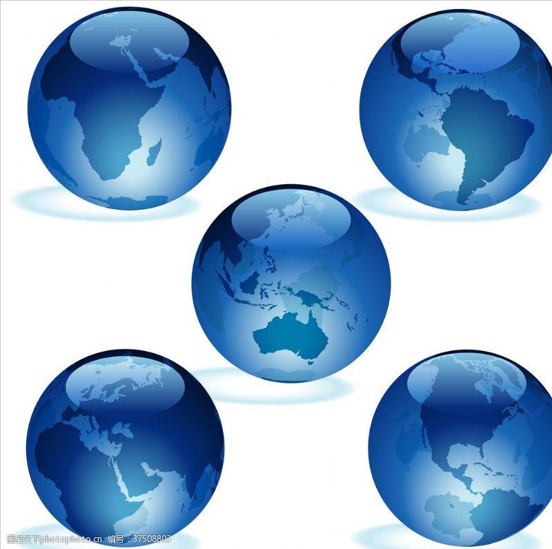 地球日画面地球