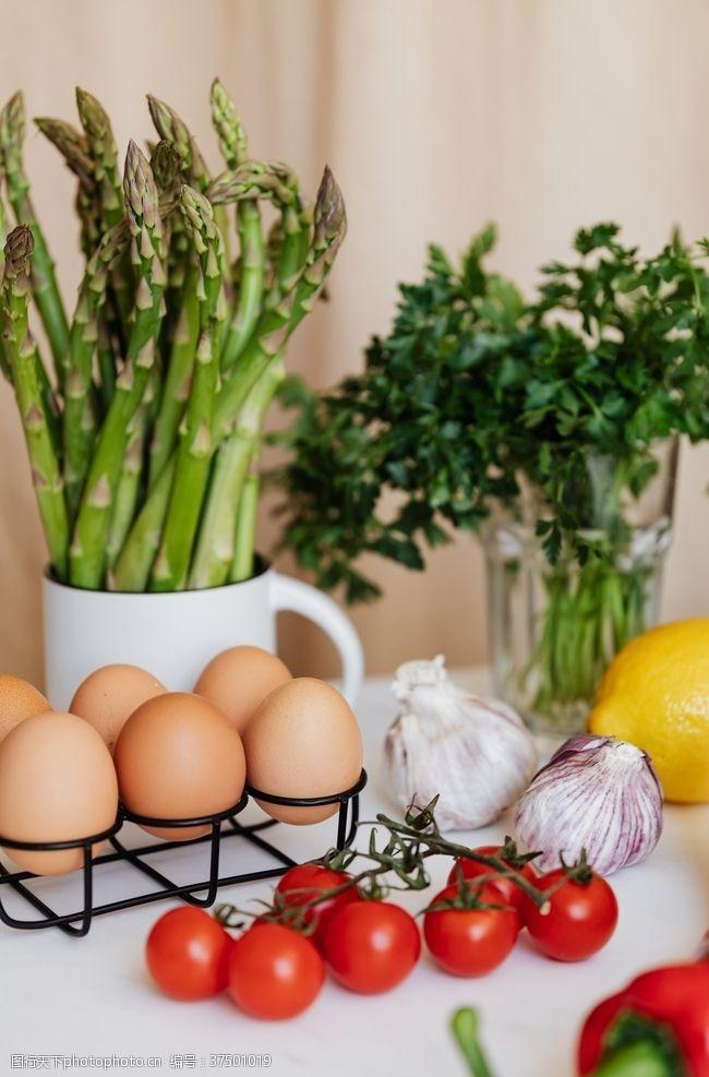 水果背景素材番茄辣椒圣女果鸡蛋蔬菜水果