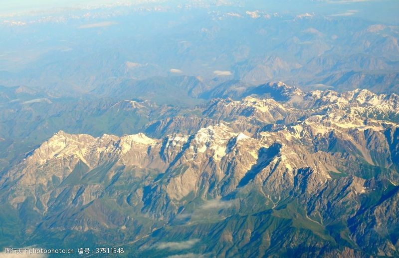 登山运动喜马拉雅山风景