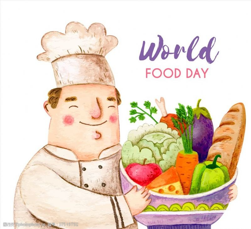 world世界粮食日厨师