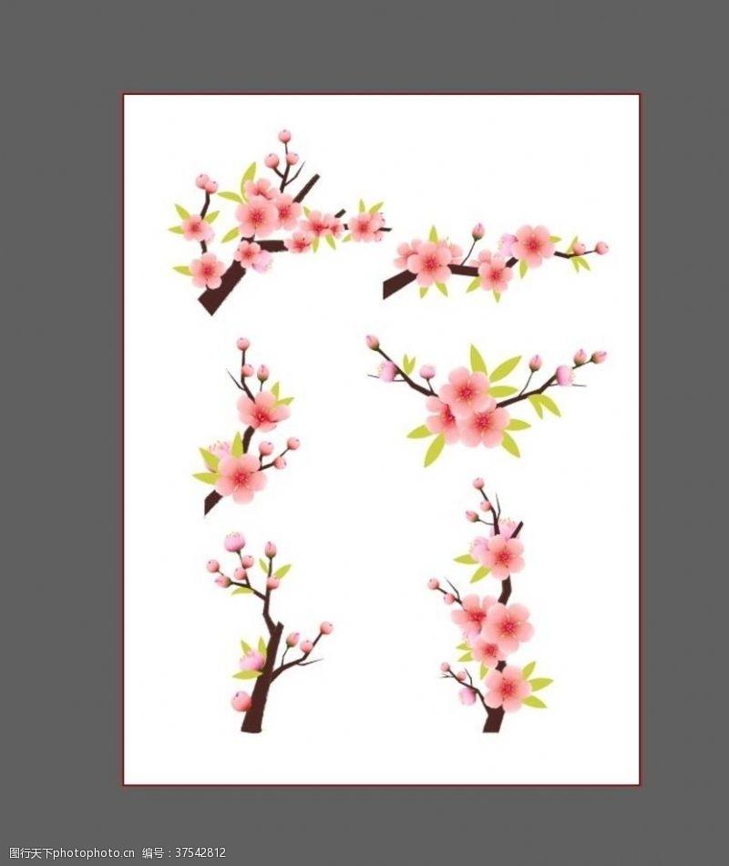 樱花主题樱花素材