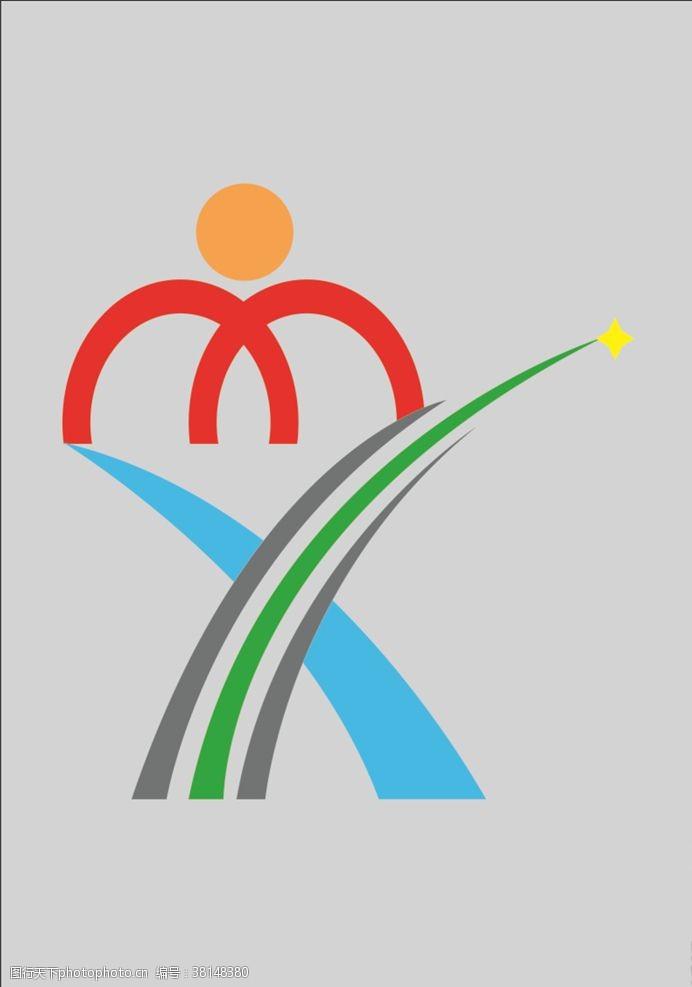 商业广告学校logo