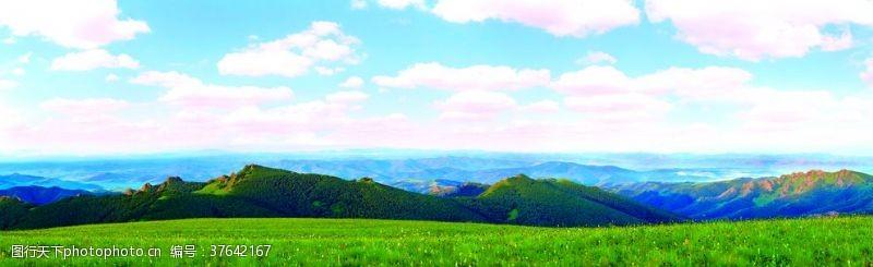 其他模板草原风景