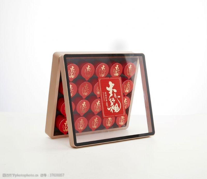 大红袍茶大红袍小罐茶茶叶包装