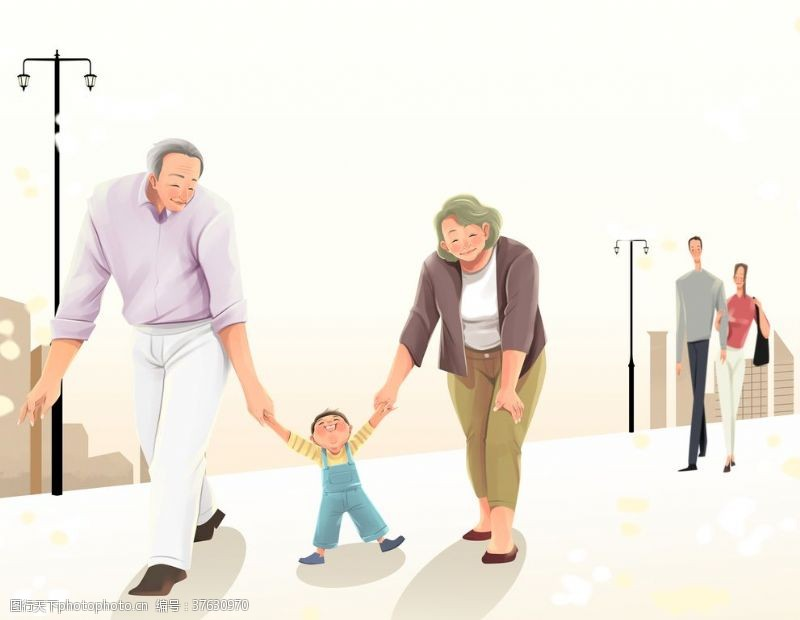 文化活动背景老年生活