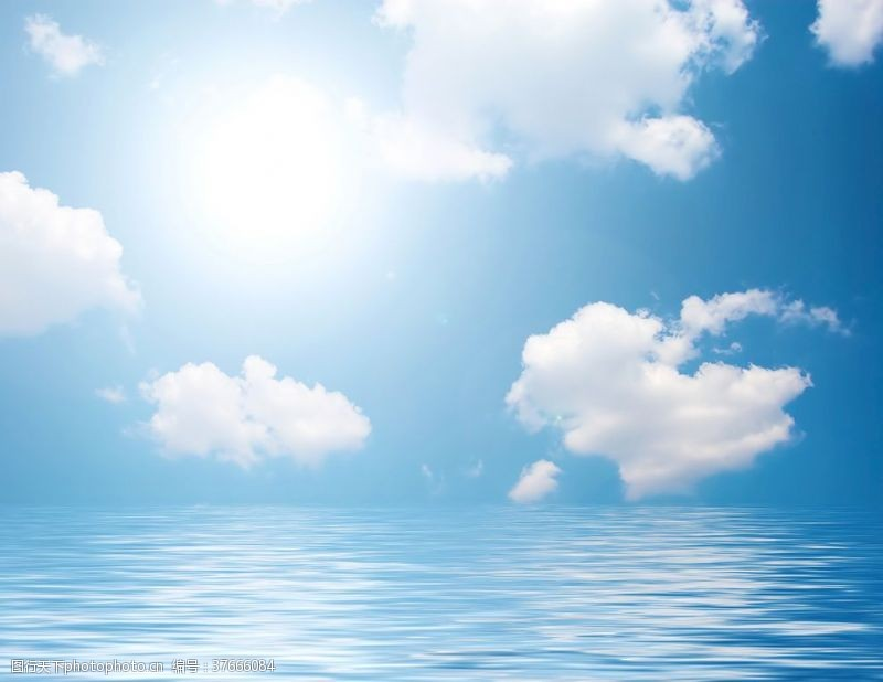 清澈的水海边景色海海边景色