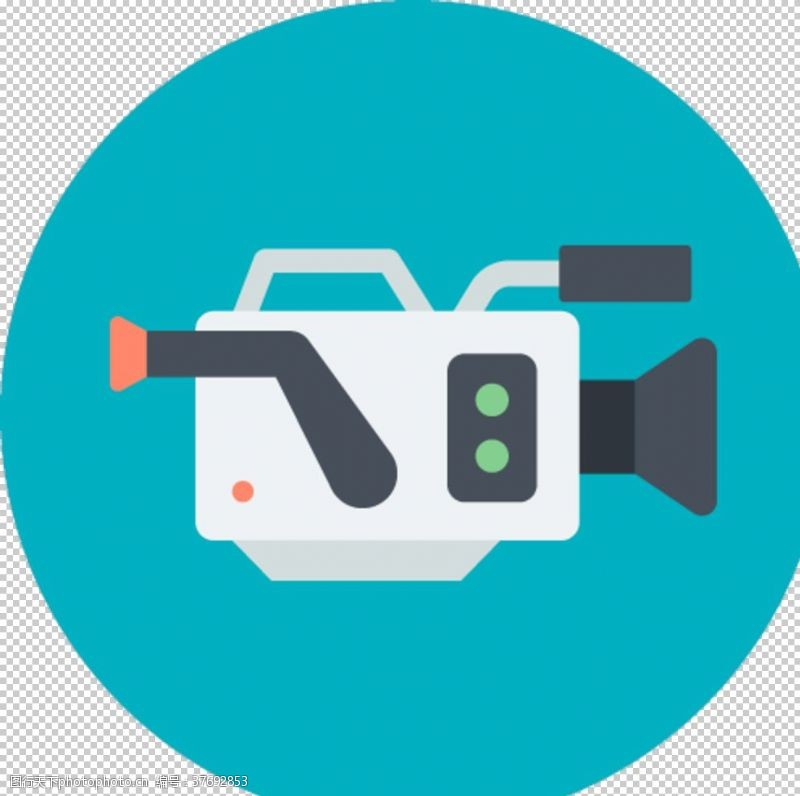 电影放映多媒体图标