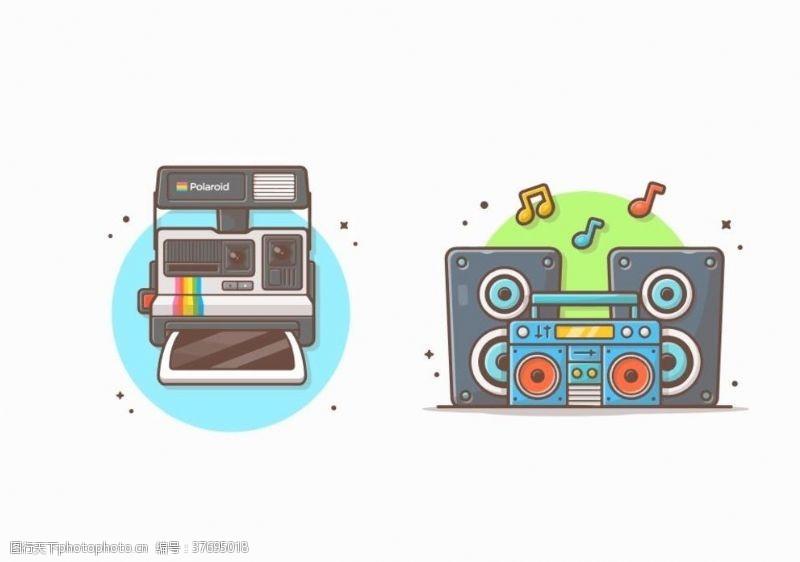 卡通音箱卡通电子产品