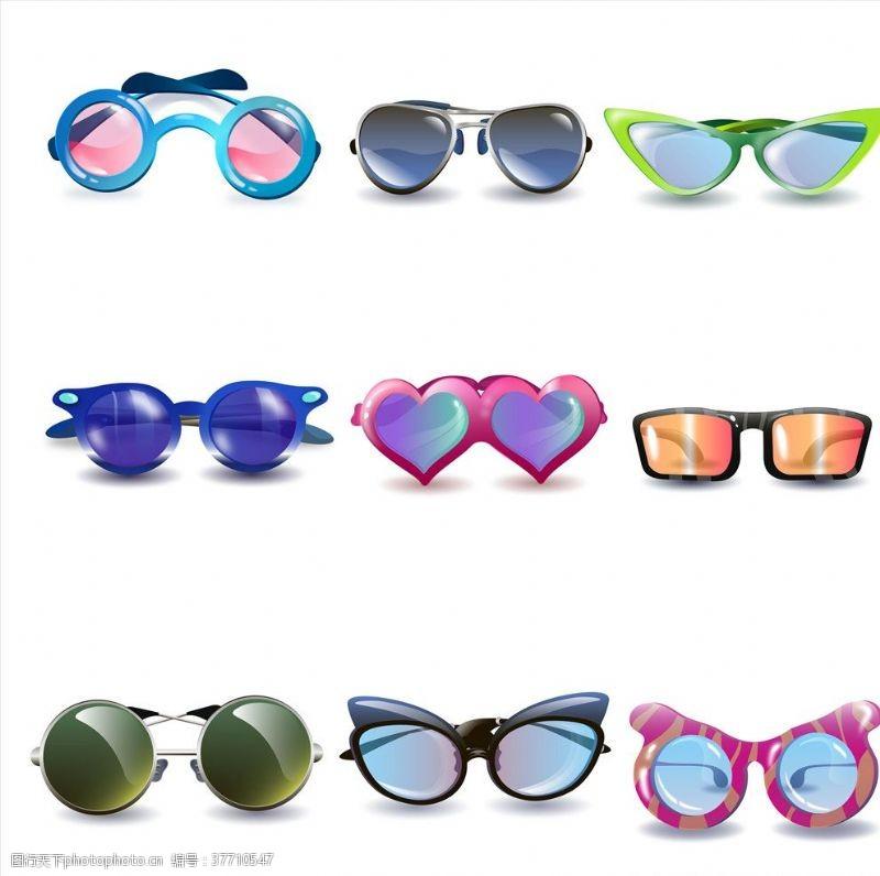 时尚眼镜可爱眼镜
