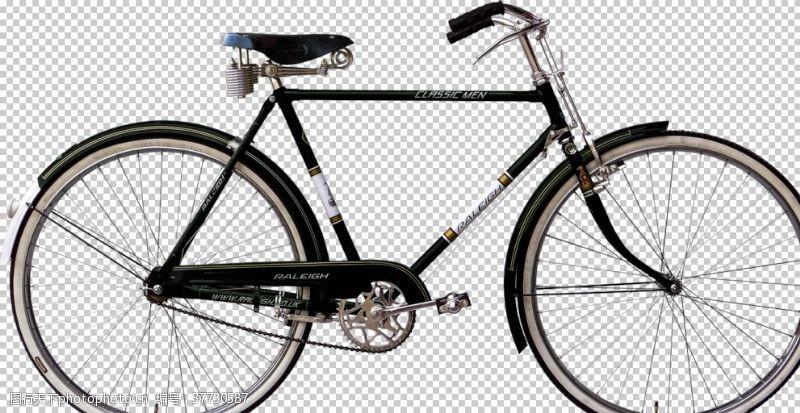 古老的老式自行车