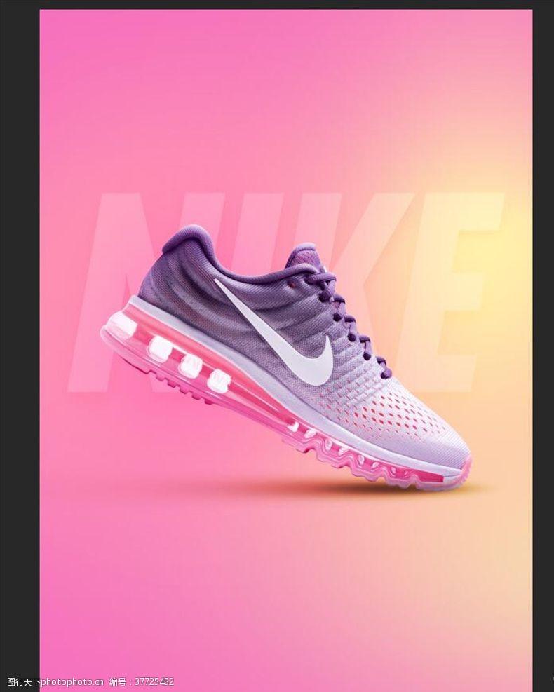 运动鞋创意运动鞋海报