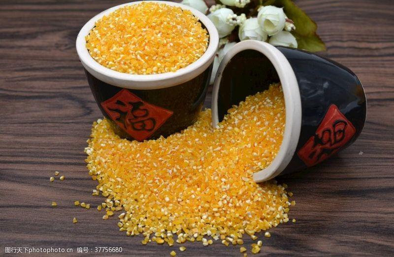 玉米碎玉米渣
