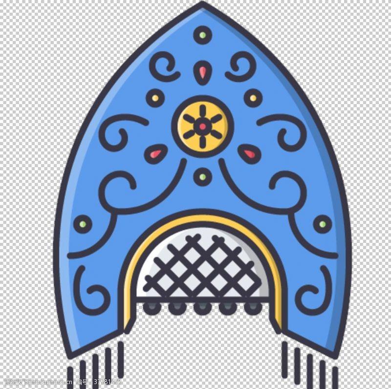 古老的部落图标