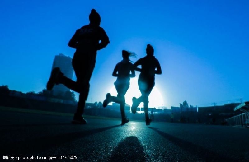 野外运动跑步