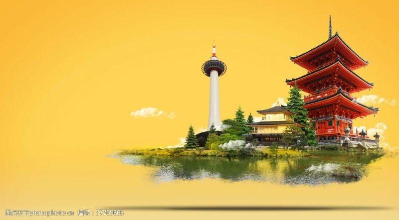 樱花旅游日本风景