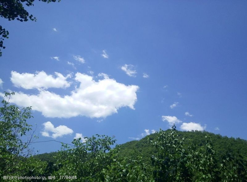 青山云的形状