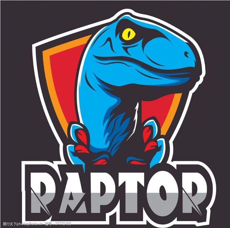 龙标志卡通恐龙