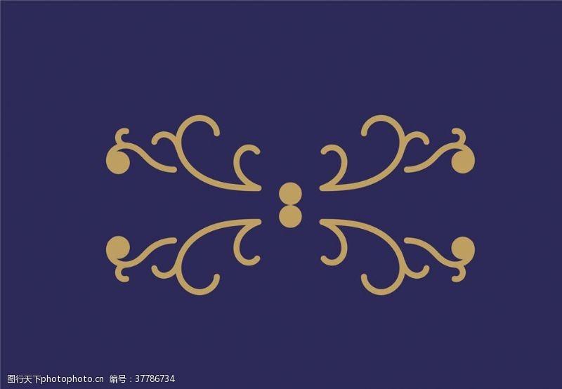 欧式花纹底纹欧式花纹