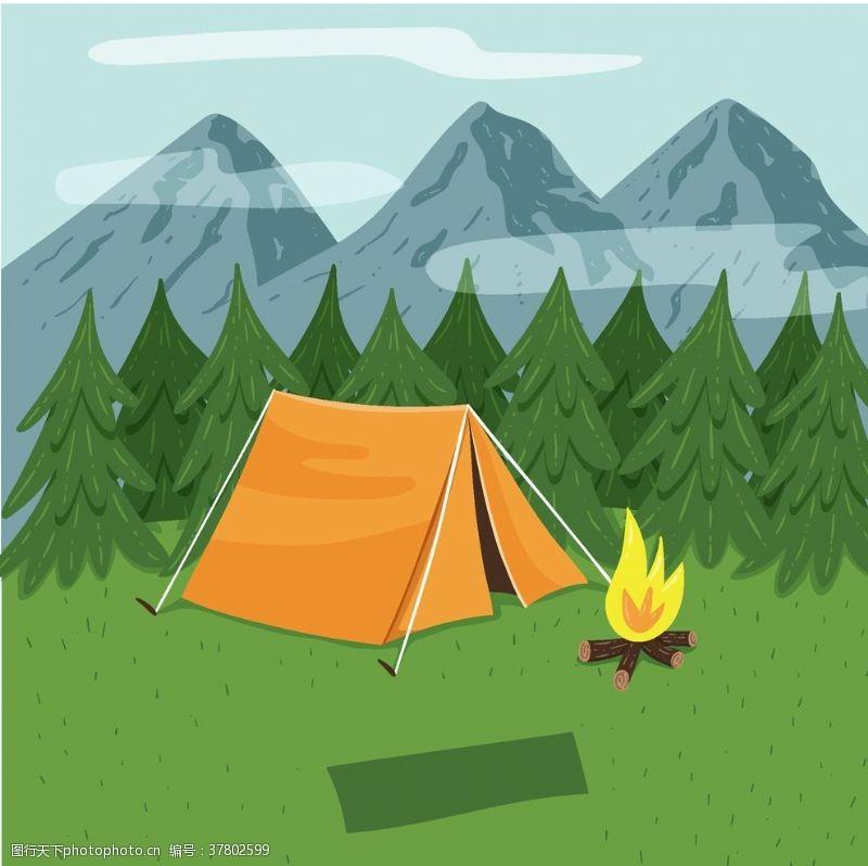 野外运动露营