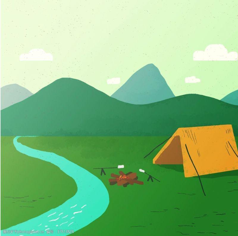 野外运动用品露营