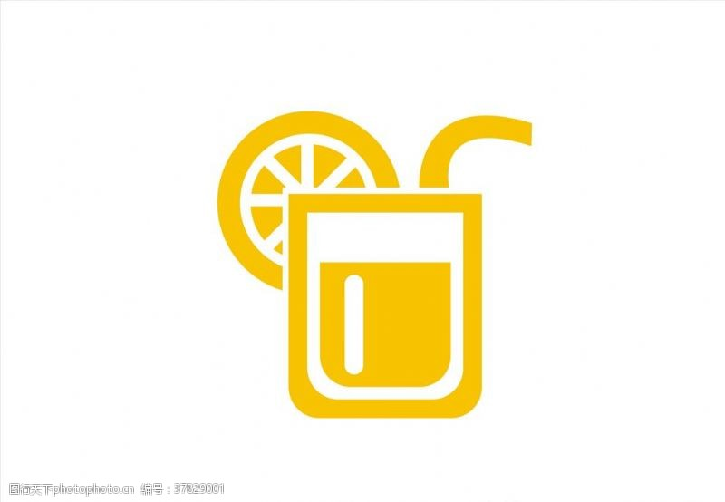 茶标志果汁图标