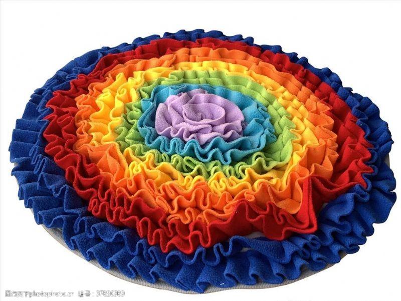 家居布艺花型地毯